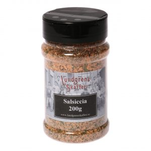 Burk med kryddblandning salsiccia 200 gram